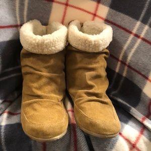 Zigi Soho brown faux suede boots